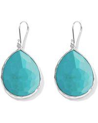 Ippolita - Large Rock Candy Teardrop Turquoise Earrings - Lyst