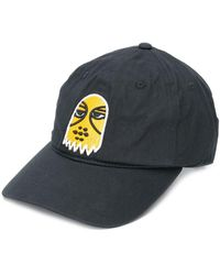 Haculla Embroidered Face Cap - Black