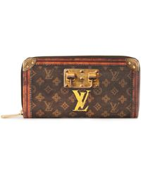 Louis Vuitton Portefeuille Zippy Trunk - Marron