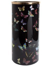 Fornasetti Farfalle Umbrella Stand - Black