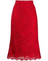 Dolce & Gabbana - レース スカート - Lyst