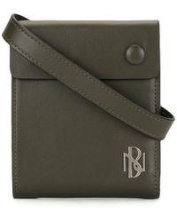 Neil Barrett Foldover-top Messenger Bag - Green