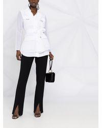 Brunello Cucinelli Рубашка С Поясом - Белый