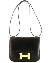 Hermès - 1993 プレオウンド コンスタンス ショルダーバッグ ミニ - Lyst