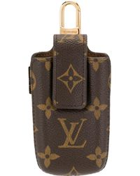 Louis Vuitton Etui Pm Phone Pouch - Brown