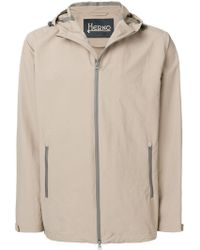 Herno - Cropped Hooded Parka - Lyst