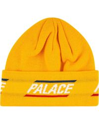 Palace 360 Beanie - Jaune
