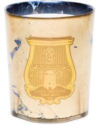 Cire Trudon Fir Round Candle - Blue