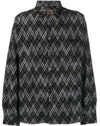 Missoni ジオメトリックステッチ シャツ - ブラック