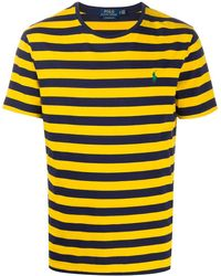 Polo Ralph Lauren Striped Basic T-shirt - Yellow