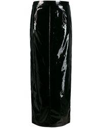 Maison Margiela ペンシルスカート - ブラック