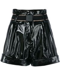 N°21 - High-waisted Wide Shorts - Lyst