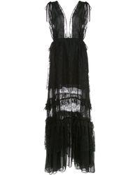 Alexis Umbria レースドレス - ブラック