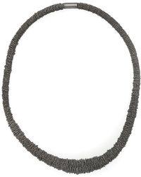 UMA | Raquel Davidowicz | Chains Necklace - Metallic