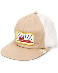 Visvim Gorra con parche del logo - Multicolor