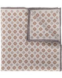 Eleventy Gewebtes Halstuch mit Muster - Mehrfarbig