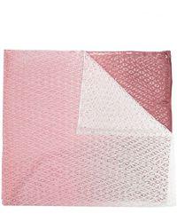 Missoni オープンニット スカーフ - ピンク