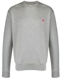 AMI - パッチ スウェットシャツ - Lyst