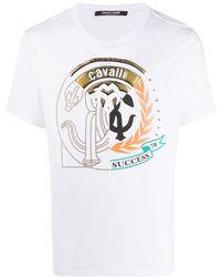 Roberto Cavalli プリント Tシャツ - ホワイト