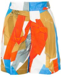 Ports 1961 - Abstract Print Shorts - Lyst