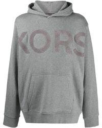 Michael Kors ロゴ スウェットパーカー - グレー