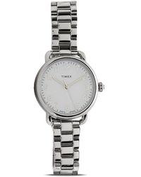 Timex Reloj Women's Standard de 34mm - Metálico