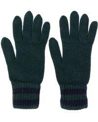 Pringle of Scotland Gebreide Handschoenen - Groen