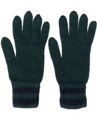 Pringle of Scotland Gestrickte Handschuhe - Grün