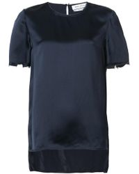 Prabal Gurung - Short-sleeve Shift Blouse - Lyst