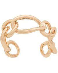 FEDERICA TOSI - Chain Link Cuff Ring - Lyst
