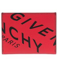 Givenchy Картхолдер С Логотипом - Красный