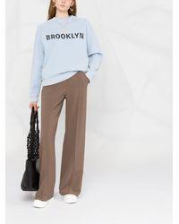 Victoria, Victoria Beckham Brooklyn スウェットシャツ - ブルー