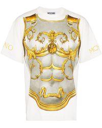 Moschino - プリント Tシャツ - Lyst