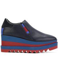 Stella McCartney - Elyse Slip-on Court Shoes - Lyst