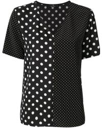 PS by Paul Smith - Polka Dot Blouse - Lyst