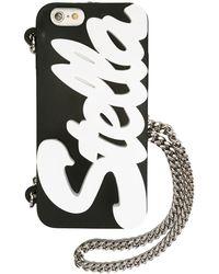 Stella McCartney ロゴ入り Iphone 6 カバー - ブラック