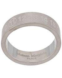 Maison Margiela - エングレーブロゴ リング - Lyst