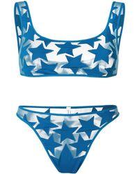Sian Swimwear Bikini Zendaya - Bleu
