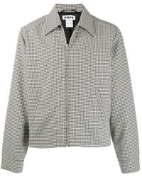 Hope Zip-up houndstooth shirt jacket - Multicolore