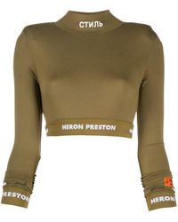 Heron Preston ロゴ セーター - グリーン