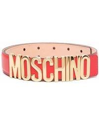 Moschino - Ремень С Логотипом - Lyst