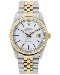 Rolex - Наручные Часы Oyster Perpetual Datejust 36 Мм 1987-го Года - Lyst