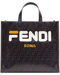 Fendi Bolso Shopping S - Negro