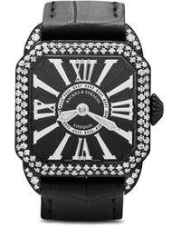 Backes & Strauss Наручные Часы Berkeley Diamond Knight 29 - Черный