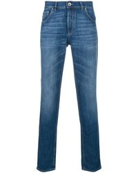 Brunello Cucinelli Slim-fit Jeans - Blue