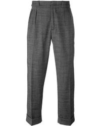 Pence - Front Pleat Trousers - Lyst