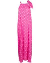 Essentiel Antwerp Polka Dot Dress - Pink