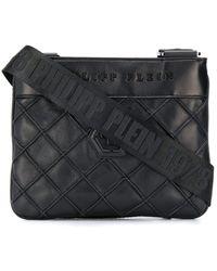 Philipp Plein Geometric Crossbody Bag - Black