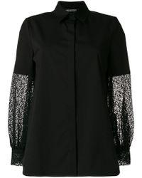 Neil Barrett - Lace Panelled Shirt - Lyst