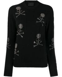 Philipp Plein スカル セーター - ブラック